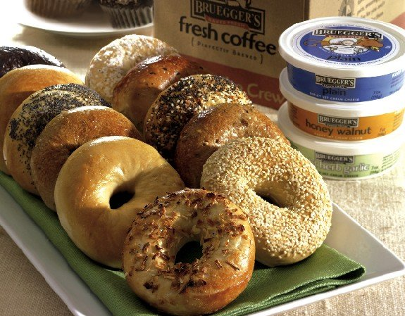 Bagels and cream cheese hookup site