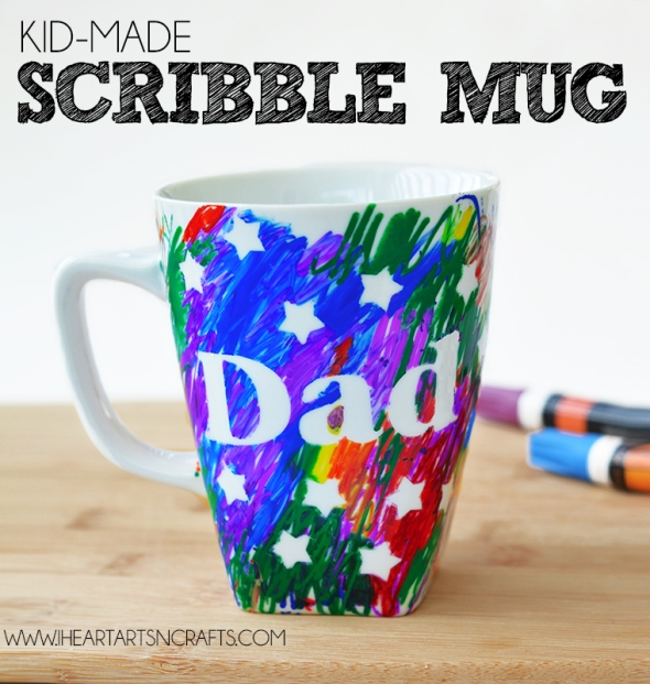 Dad Scribble Mug