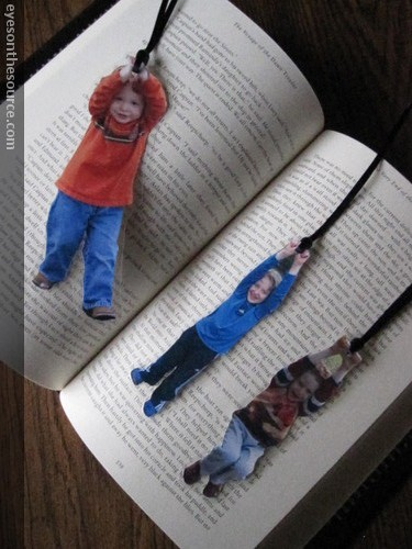 Kids' Photo Bookmark