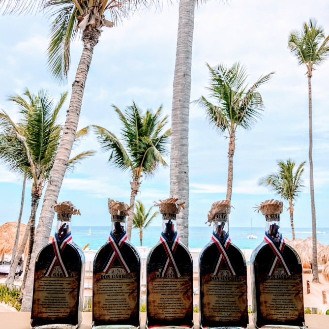 All the Mama Juana we brought home with us (for us and gifts) 1 bottle can last 20 years as you can reuse the herbs and bark inside!